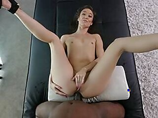 Hot Asian CRAZY SQUIRT and BBC In Her Tight Ass!
