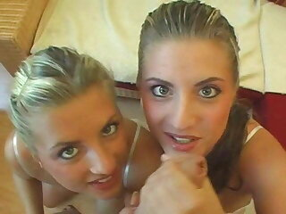 Twins from German POV fuck