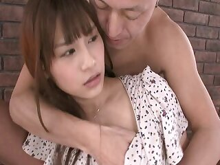 Horny Japanese Ai Nikaido gets pleasured by lot of dudes - compilation