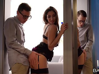 Energetic proclivity in a kinky scene with her daughter's boyfriend