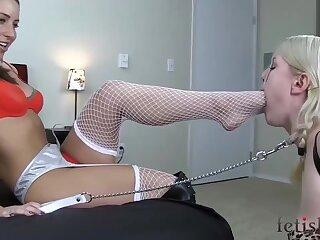 Femdom Domination - Lesbian Amateur Porn