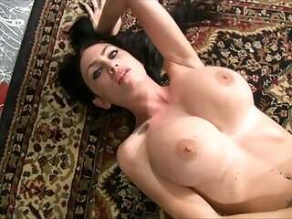 Buxom Brunette Emma London - Solo Fetish Invective