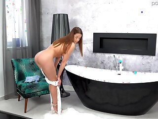 Lascivious fucking at home with mesmerizing girlfriend Sybil. HD