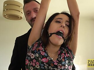 Sexy pornstar Susy Off colour enjoys being rough fucked hard by a large unearth