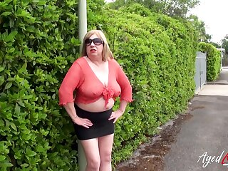 AgedLovE Busty Mature Got Picked up and Fucked