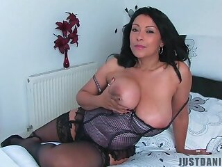 Kinky matured chick Danica Collins enjoys having solo fun. HD