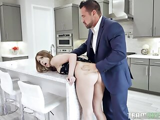 Daisy's stepdad is gonna fuck her sweet acquisitive pussy good